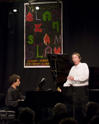 "Pianist Seth Knopp and baritone William Sharp perform Mahler's ""Kindertotenlieder"""