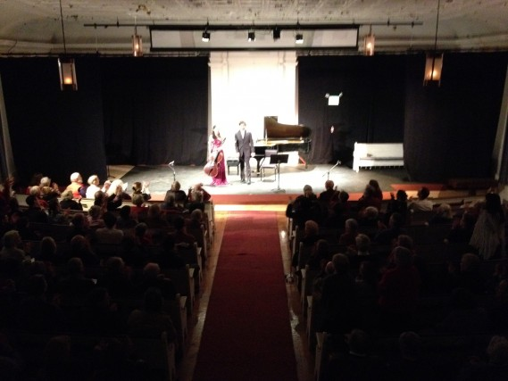 Alice Woo and Roman Rabinovich perform their Beethoven residency concert at Next Stage