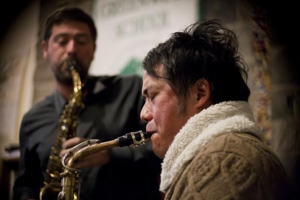 Noah Getz and Ken Ueno
